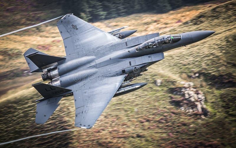 Getto del U.S.A.F. F15 immagini stock