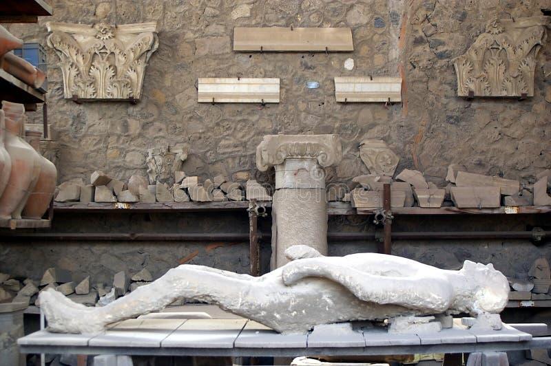Getto della donna incinta di Pompei immagini stock libere da diritti