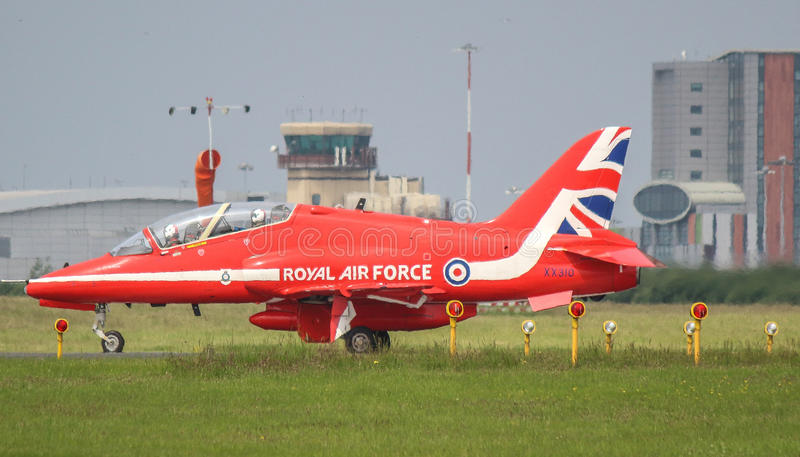 Getto rosso delle frecce RAF fotografia stock libera da diritti
