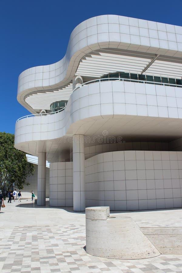 Getty中心-洛杉矶 免版税库存照片