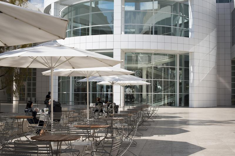 The Getty Center, campus of the Getty Museum. royalty free stock image