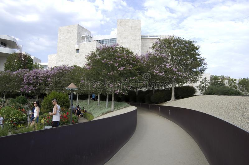 The Getty Center Los Angelas stock image