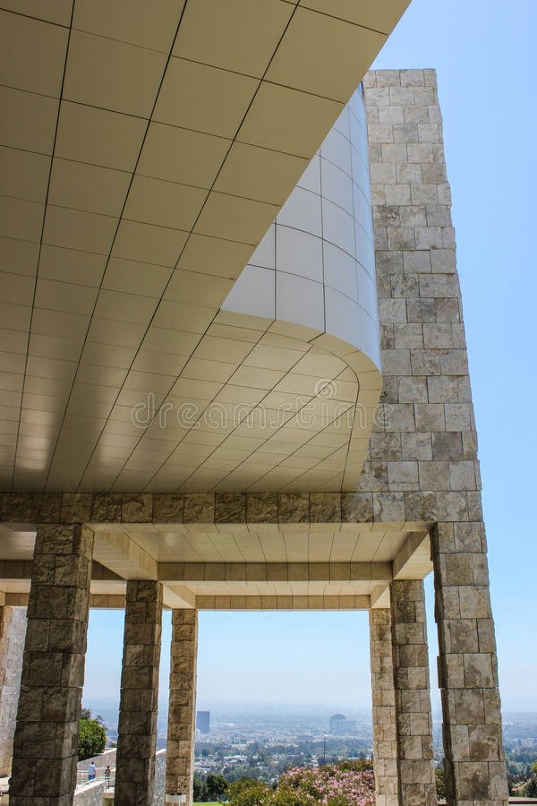 The Getty- Los Angeles royalty free stock images