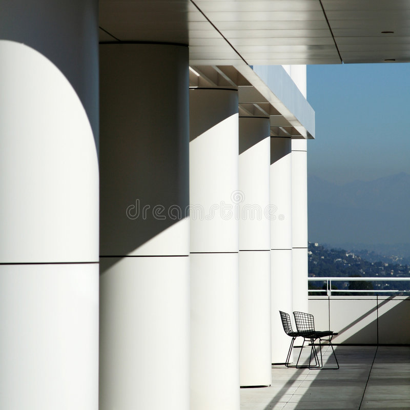 Getty Museum Royalty Free Stock Images