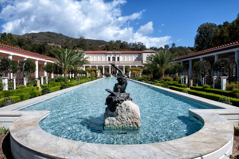 The Getty Villa stock photography