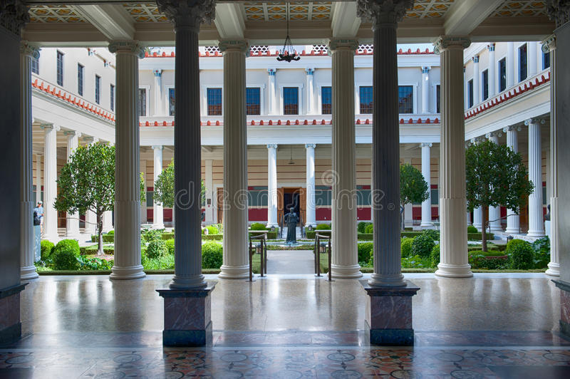 Download The Getty Villa Editorial Image - Image: 27435110