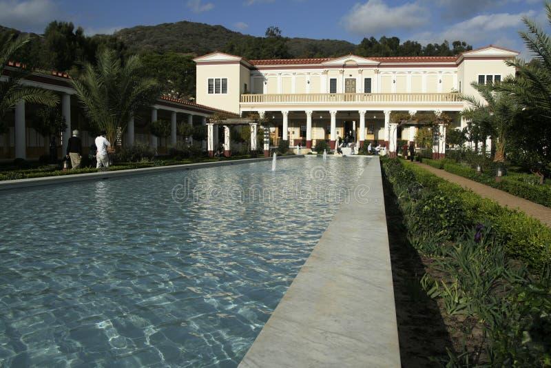 Getty villa stock photo