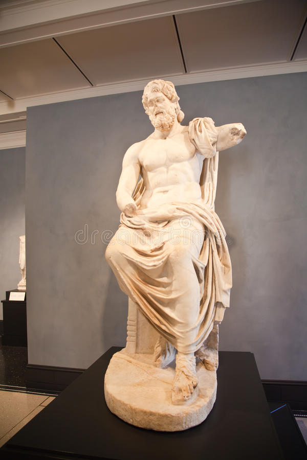The Getty Villa stock images