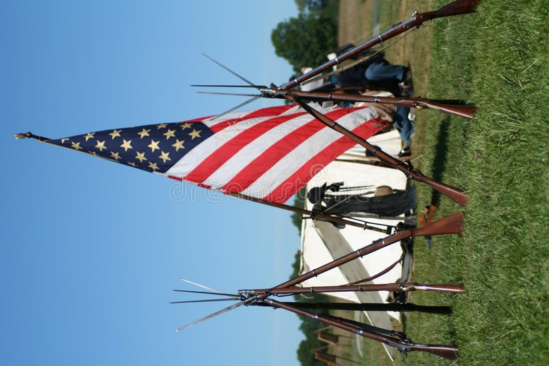 gettysburg arkivbild