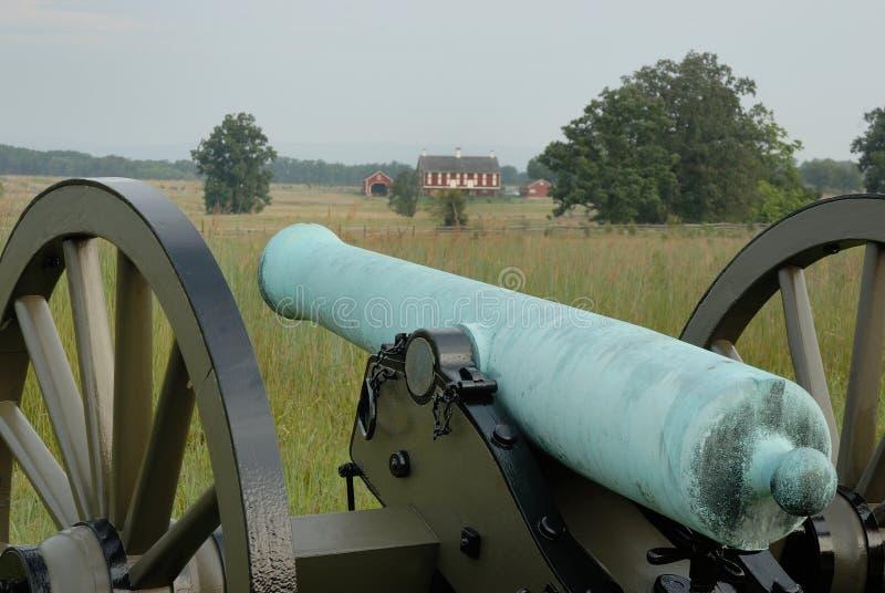 Gettysburg działo fotografia stock
