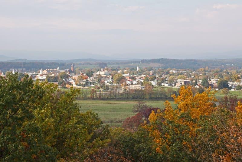 Gettysburg en automne photo stock