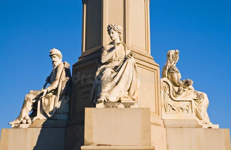 gettysburg monument arkivbilder