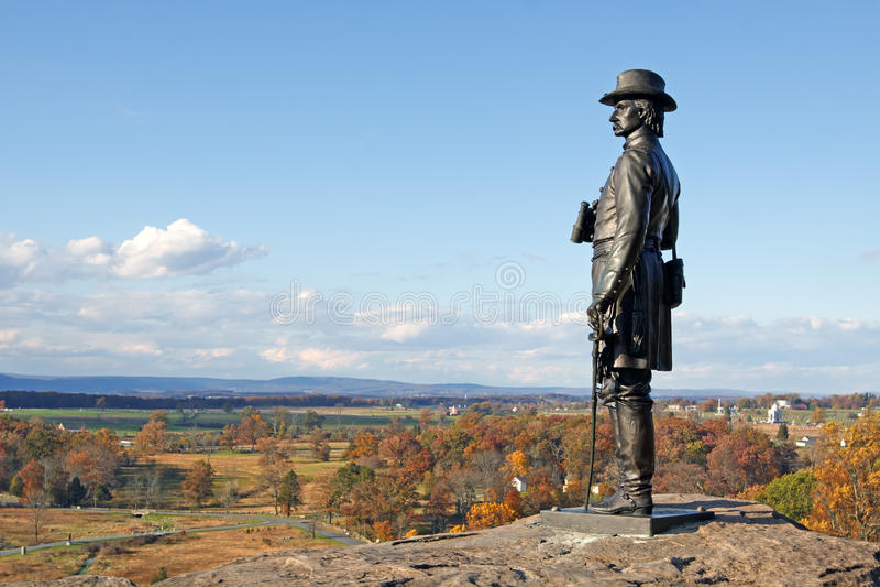Download Gettysburg National Military Park Stock Photo - Image of park, hero: 27277972