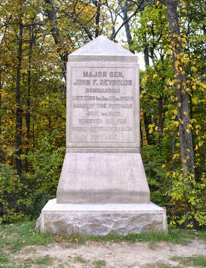 Gettysburg National Military Park, Pennsylvania. royalty free stock images