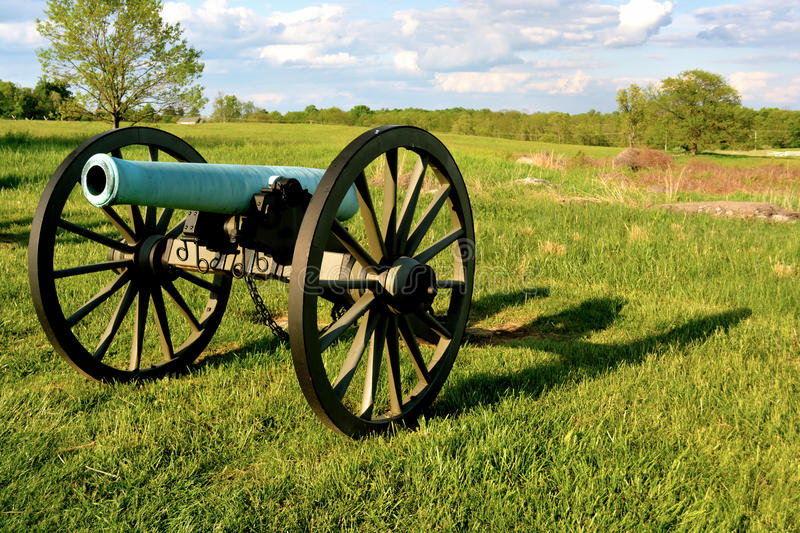 Gettysburg National Military Park - 020. Gettysburg National Military Park - United States stock photos