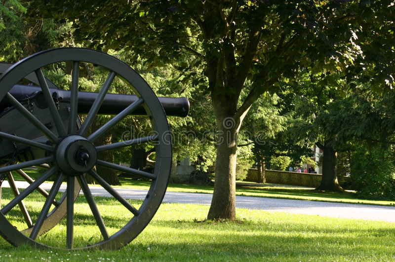 Gettysburg Natl Cemetary royalty free stock images