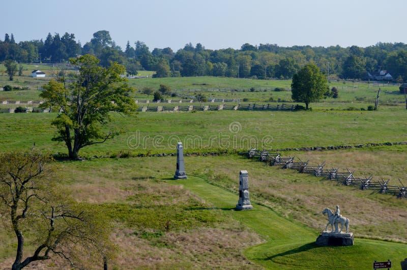 Gettysburg Pennsylvania fotografering för bildbyråer
