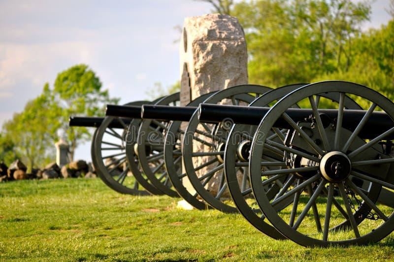 Gettysburg wojskowego Krajowy park - 018 obrazy stock