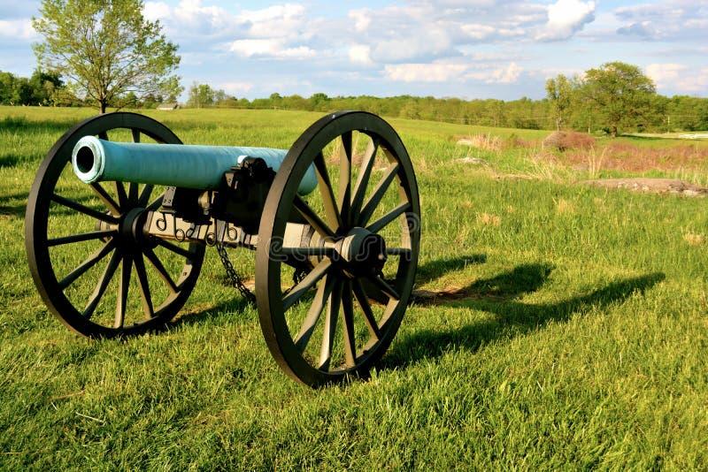 Gettysburg wojskowego Krajowy park - 020 zdjęcia stock