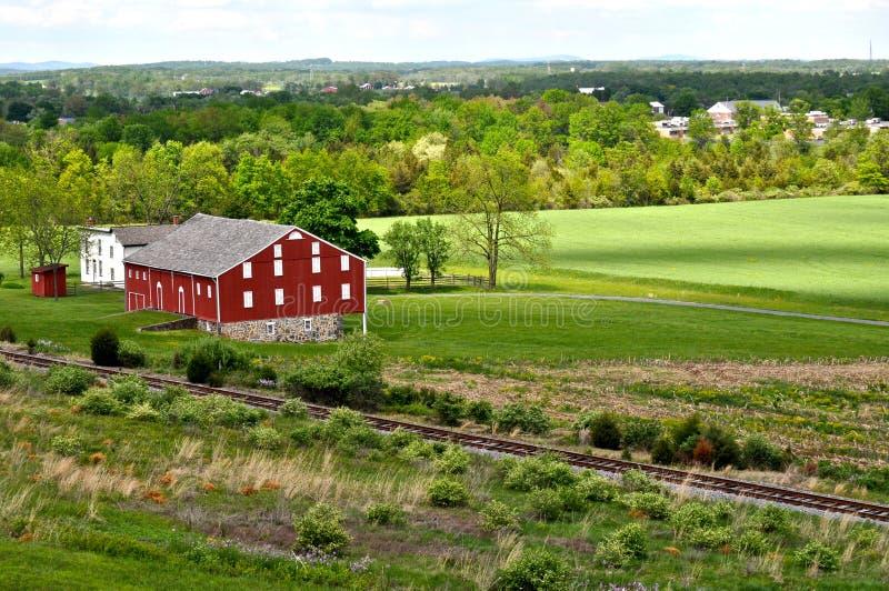 Gettysburg wojskowego Krajowy park - 139 obrazy royalty free
