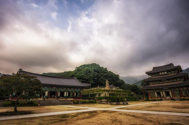 Geumsansa寺庙 图库摄影