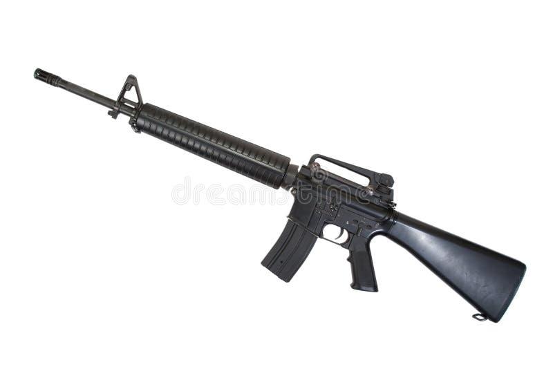 Gevär för USA-armé M16 royaltyfria bilder