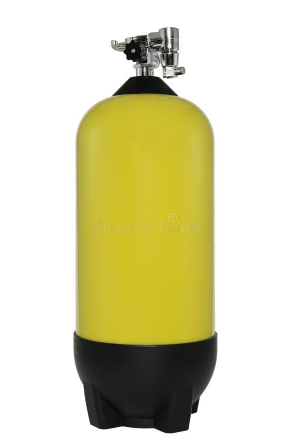 Gevaarlijke cilinder stock foto's