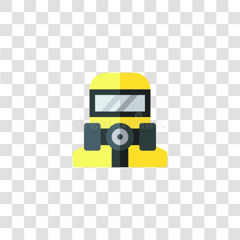 gevaarpictogram en symbool gevaarlijk kleurpictogram voor het ontwerp van websites en de ontwikkeling van mobiele toepassingen Ee vector illustratie