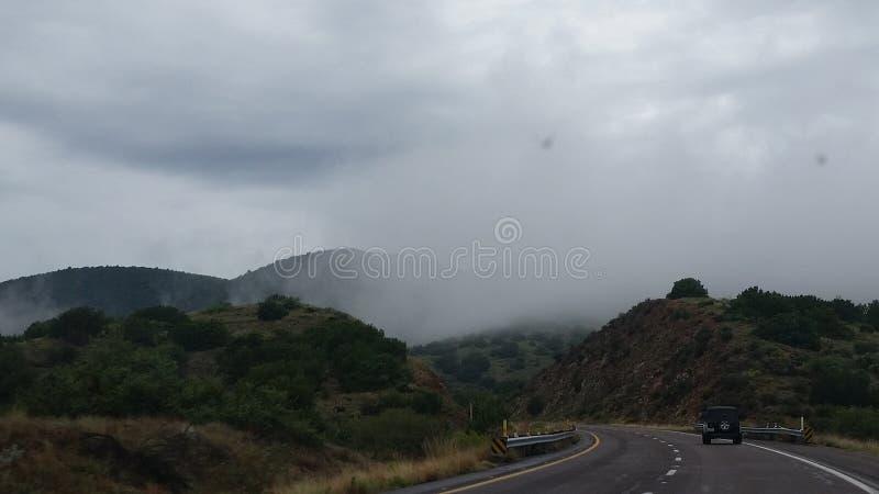 Gevallen wolk royalty-vrije stock afbeelding