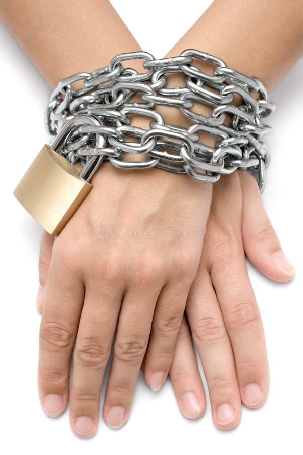 Gevangen stock fotografie