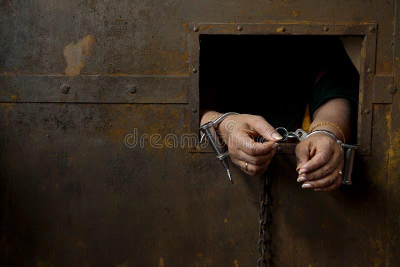 Gevangene royalty-vrije stock fotografie