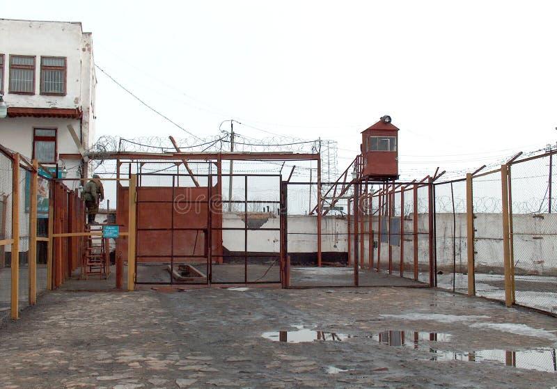 Gevangenis stock foto's