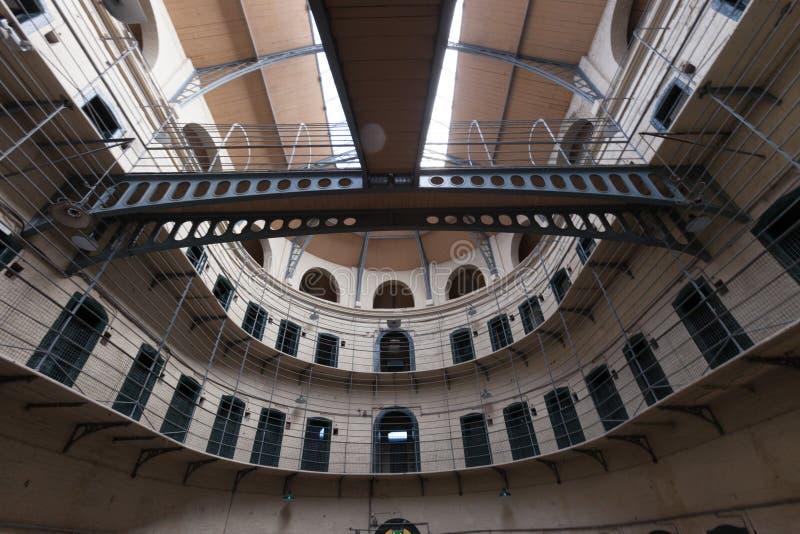gevangenis stock foto