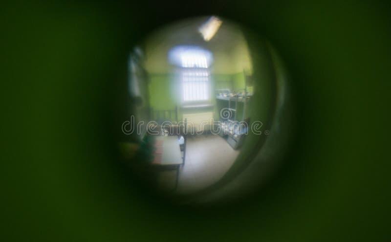 gevangenis stock fotografie