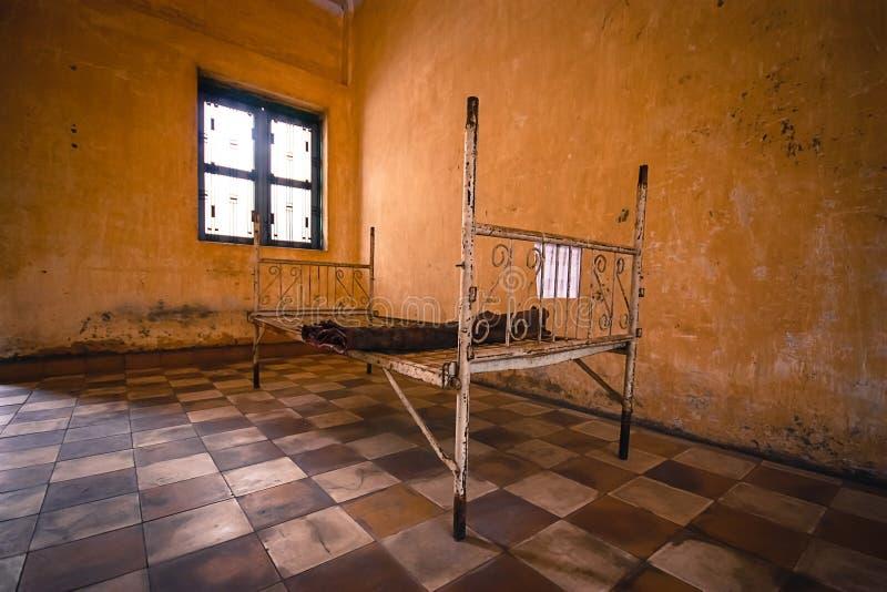 Gevangenis s21 stock fotografie