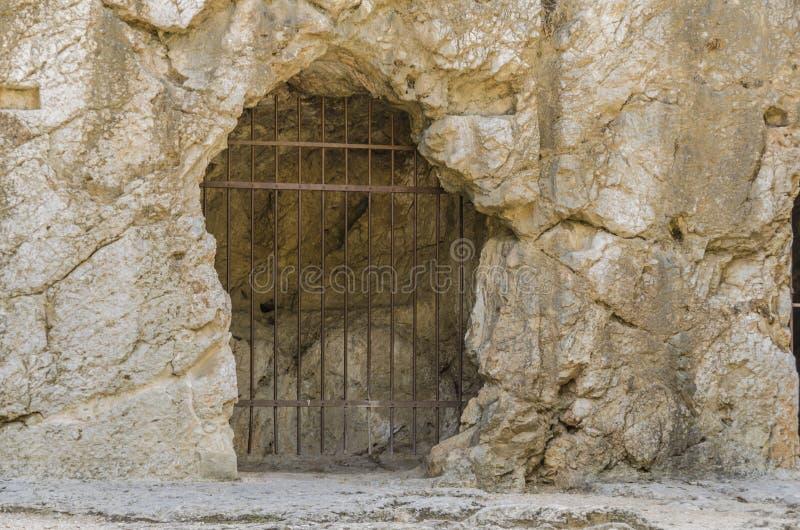 Gevangenis van Socrates royalty-vrije stock afbeelding