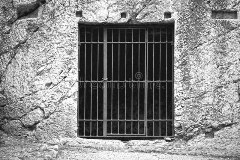 Gevangenis van Socrates royalty-vrije stock fotografie