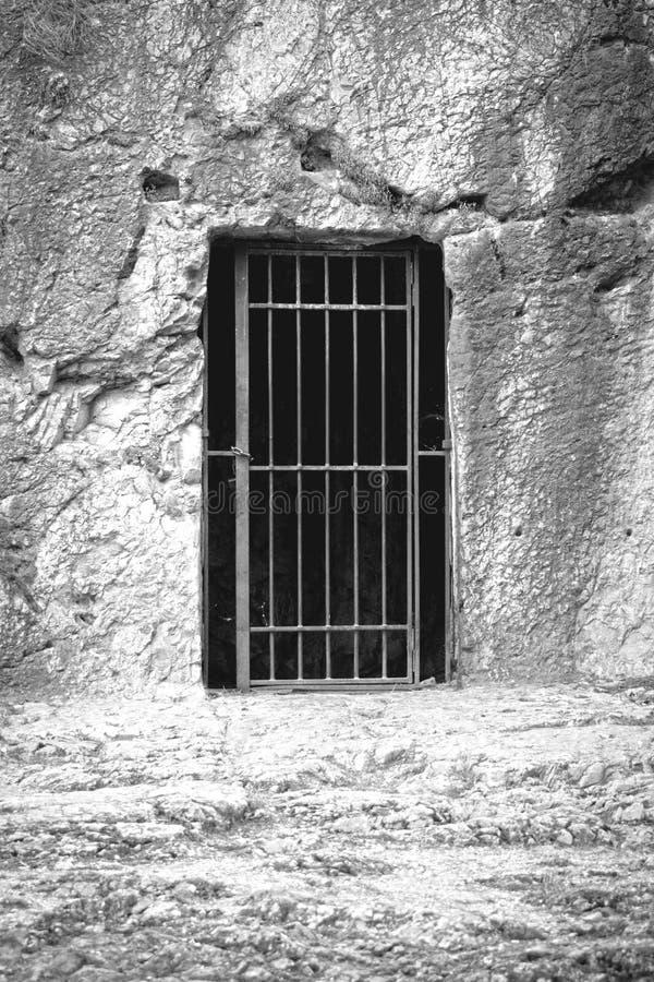 Gevangenis van Socrates stock foto