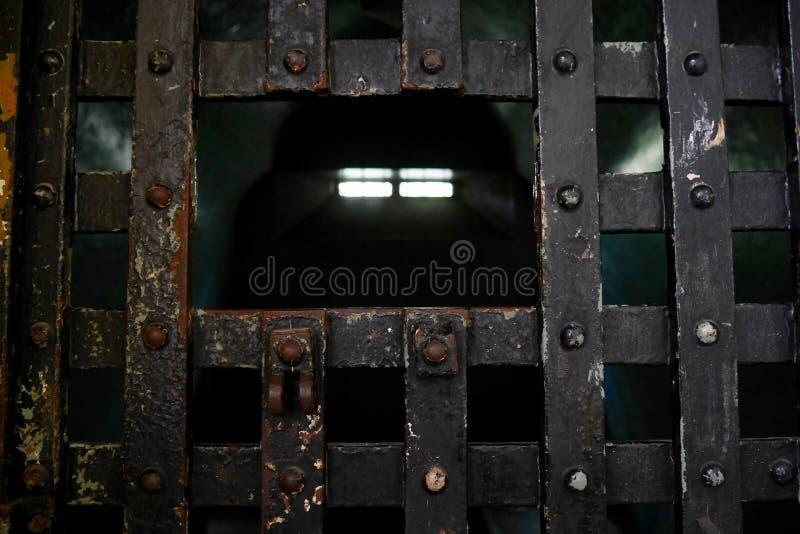 Gevangeniscel stock foto's