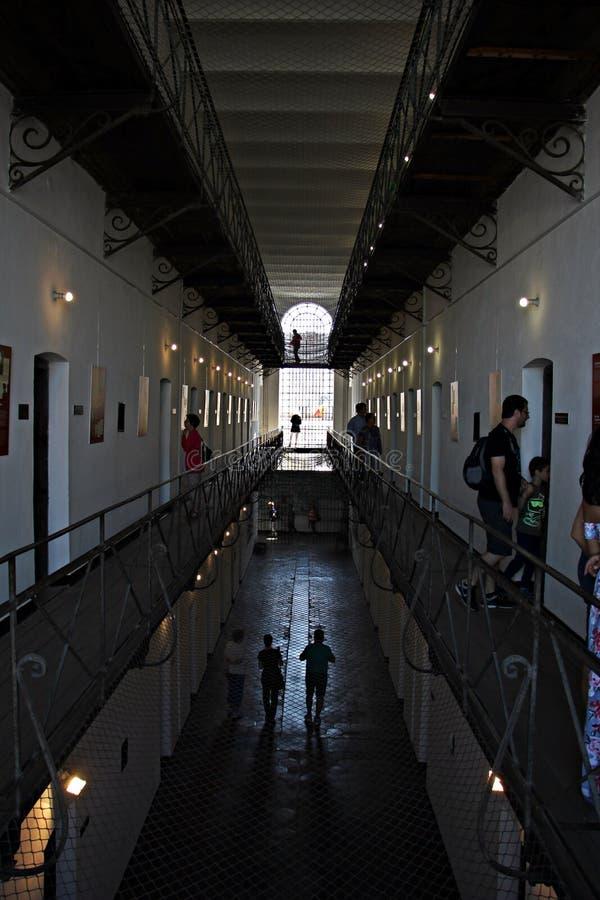 Gevangeniscellen bij het Gedenkteken van de Slachtoffers van Communisme en van de Weerstand royalty-vrije stock fotografie