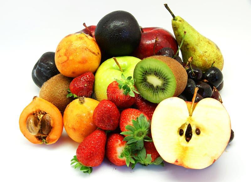 Gevari?ërd fruit stock afbeeldingen