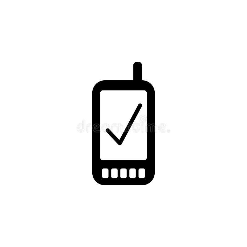 geverifieerd slim telefoonpictogram Element van eenvoudig pictogram voor websites, Webontwerp, mobiele app, informatiegrafiek Tek vector illustratie