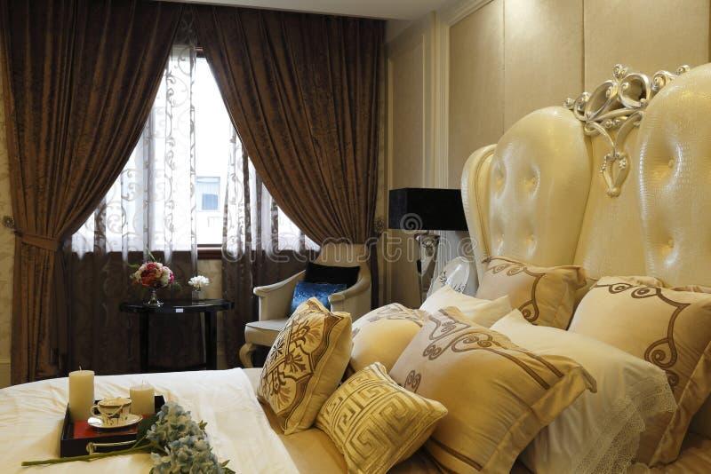 Gevoelig en sexy aan de slaapkamer royalty-vrije stock foto's