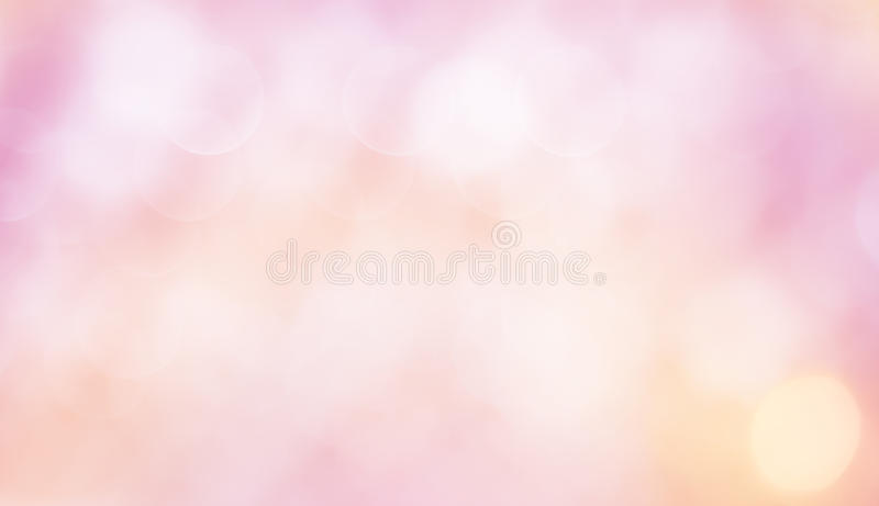 Gevoelige Mooie Achtergrond met bokeh stock foto's