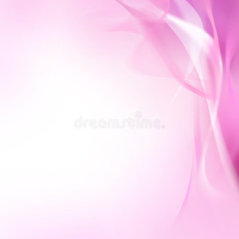 Gevoelige roze achtergrond royalty-vrije illustratie