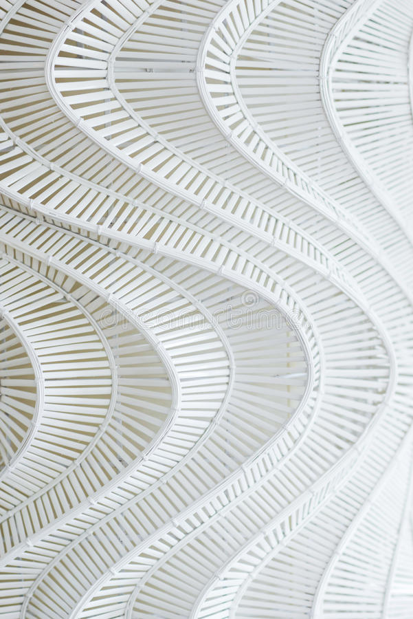 Gevoerd ontwerppatroon van houten decor royalty-vrije stock foto