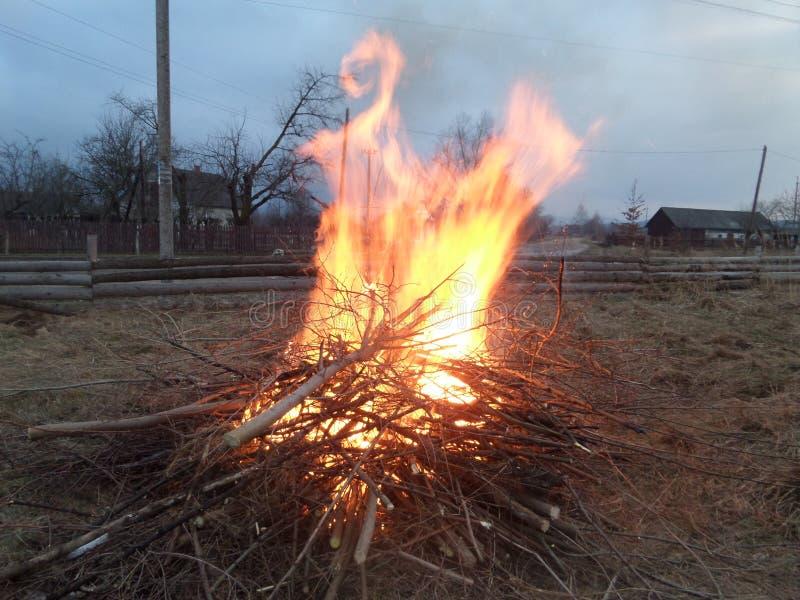 Gevormde brand stock afbeeldingen
