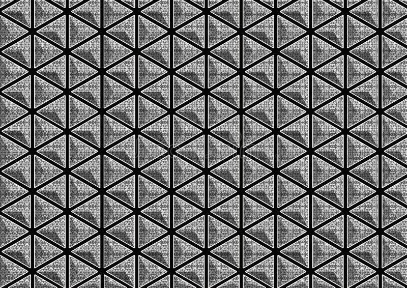Gevormde 3D driehoek stock foto