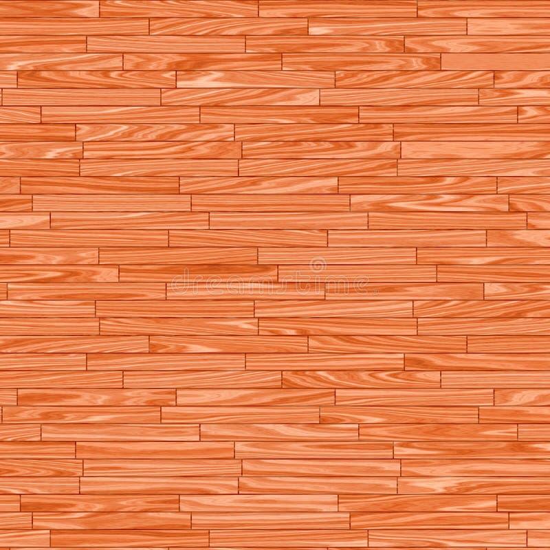 Gevormde houten vloer stock illustratie