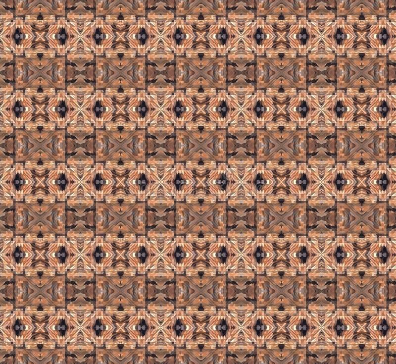 Gevormde houten vloer royalty-vrije stock foto